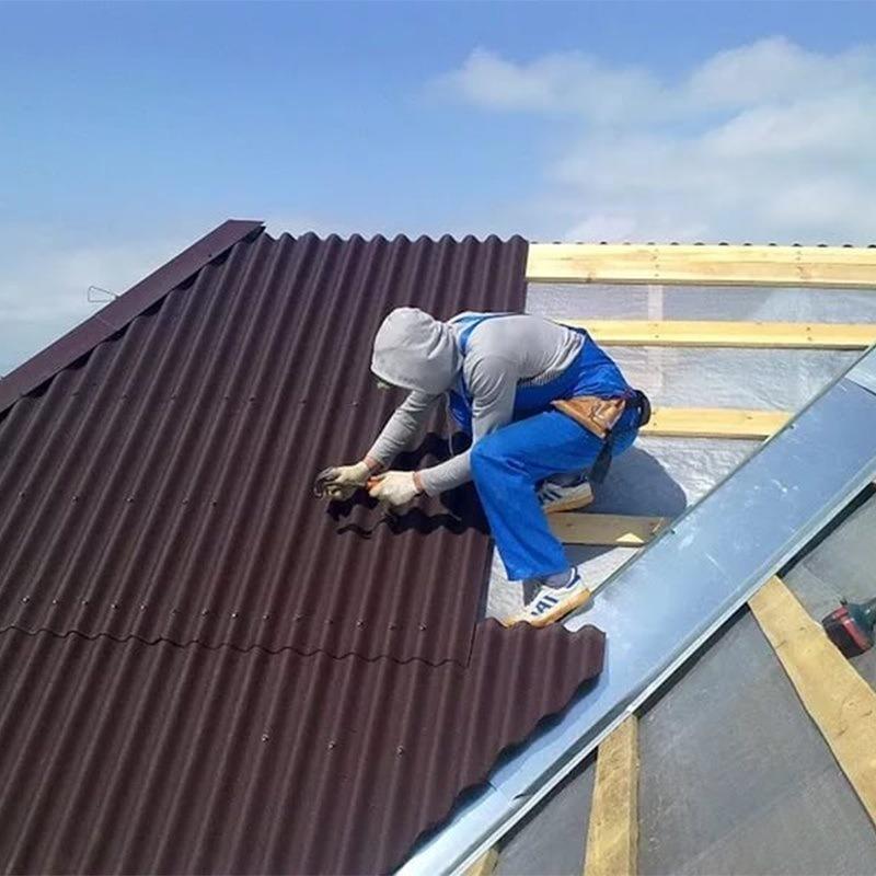 Чем можно отремонтировать шиферную крышу своими руками 61