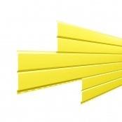 Металлосайдинг L-Брус «Цинково желтый» (RAL-1018)