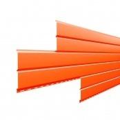Металлосайдинг L-Брус «Оранжевый» (RAL-2004)