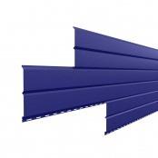 Металлосайдинг L-Брус «Ультрамарин» (RAL-5002)